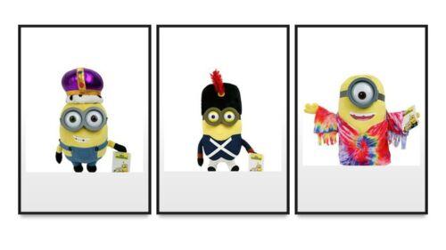 MinionsPlüschverschiedene Charaktereca 28cmNeu