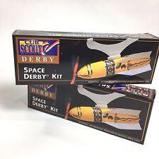 Lot of 2 Boy Cub Scouts Vintage 1996 Space Derby Kits Set Homeschool 4H Project