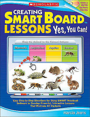 1 of 1 - Creating Smart Board Lessons: Yes, You Can!: Easy Step-By-Step Directions w/CD
