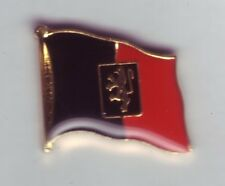 Aosta,Flaggenpin,Italien,Pin,Aostatal,Badge,Anstecker