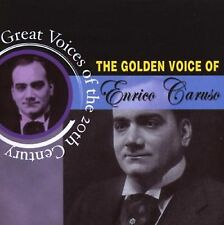 THE GOLDEN VOICE OF ENRICO CARUSO   CD - FREE POST IN UK