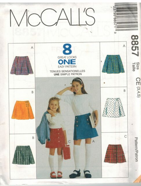 Butterick SEWING Pattern 4906 Girls/' VERY EZ A Line Dress 7-14 UNCUT OOP FF EASY