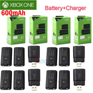 For-Xbox-One-Controller-8x-Rechargeable-Battery-Pack-Charger-Charging-Dock-Kits