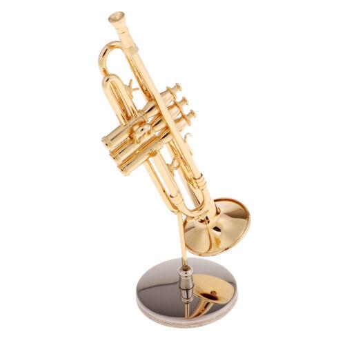 Mini Klassiche Trompete für 1:6 Puppenhaus Dekoration