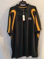 Green Bay Packers polo shirt-NFL Antigua-Large-NWT-AWESOME Cheesehead gear