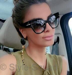 big sunglasses for women  Retro Cat Eye Fashion Pin Up Anoushka Big Large Celebrity Women ...