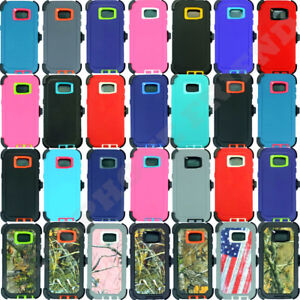 newest 7e5aa 338b2 Details about for Samsung Galaxy S6 Edge+Plus Case Cover w/(Belt Clip fits  Otterbox Defender)