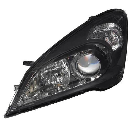 Headlamp Headlight Left N//S Passenger Side Black Bezel Kia Cee/'D ED 2006-On