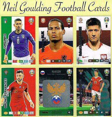 Panini euro 2020 ☆ Ventiladores//Equipo Mate ☆ Adrenalyn XL Tarjetas De Fútbol De #208 a #297
