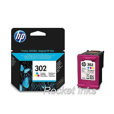Genuine HP 302 Colour Ink Cartridge For DeskJet 3630 Inkjet Printer