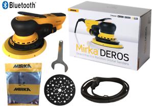 Mirka-Deros-650CV-im-Karton-150-mm-Exzenterschleifer-Schleifmaschine-Hub-5-0-mm