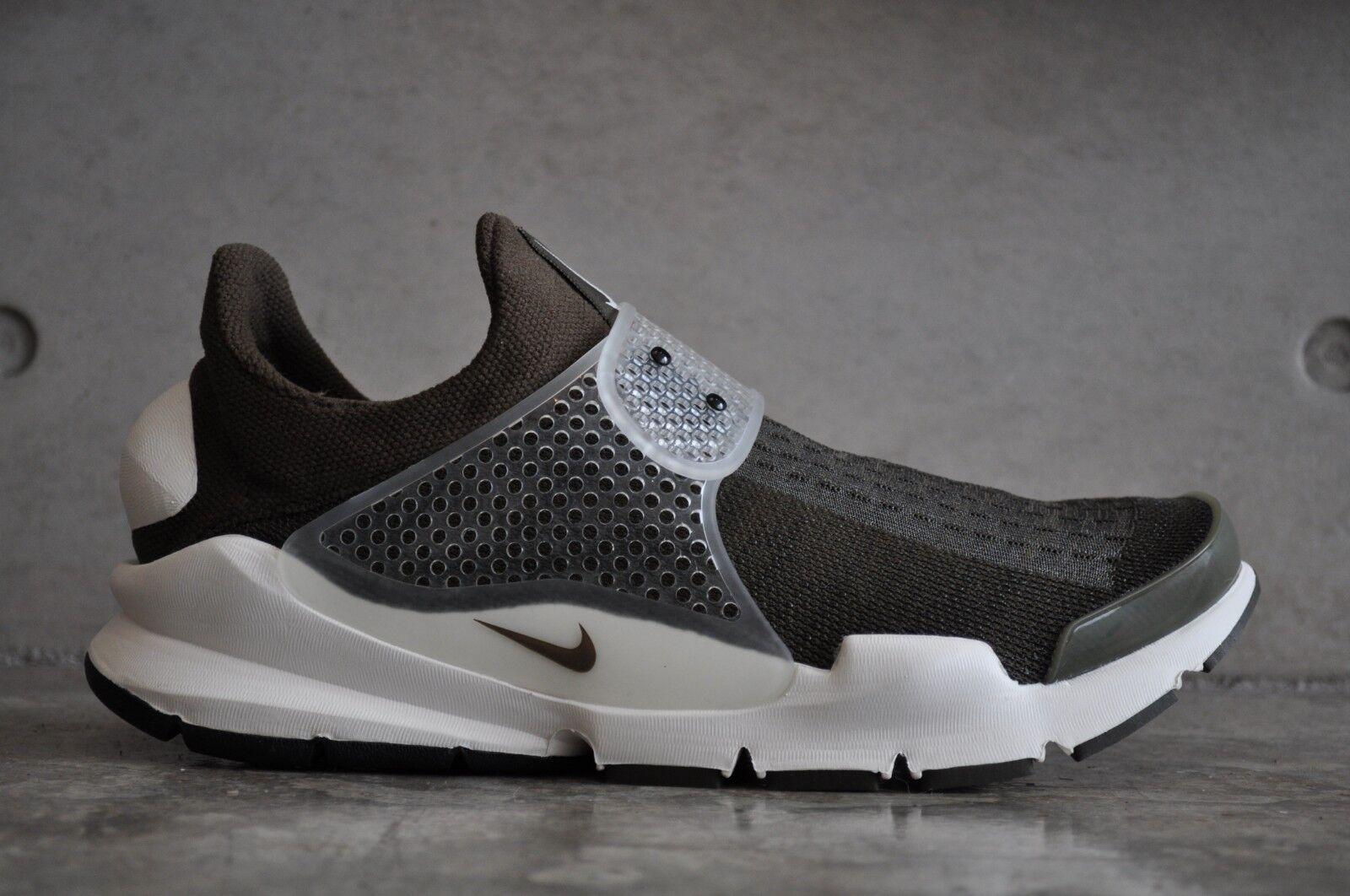 Nike SOCK Dart SP X FRAMUomoTO D'OLIVA-Dark Loden/Dark loden-VELA 6 EUR 7 US