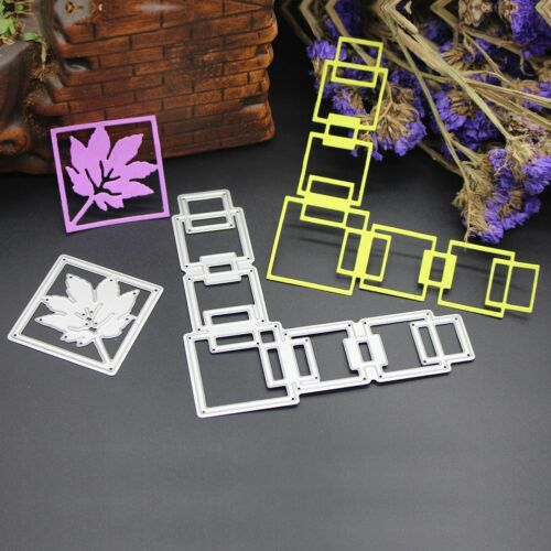 New!Metal Cutting Dies Stencil DIY Scrapbooking Embossing Album Paper Card Craft