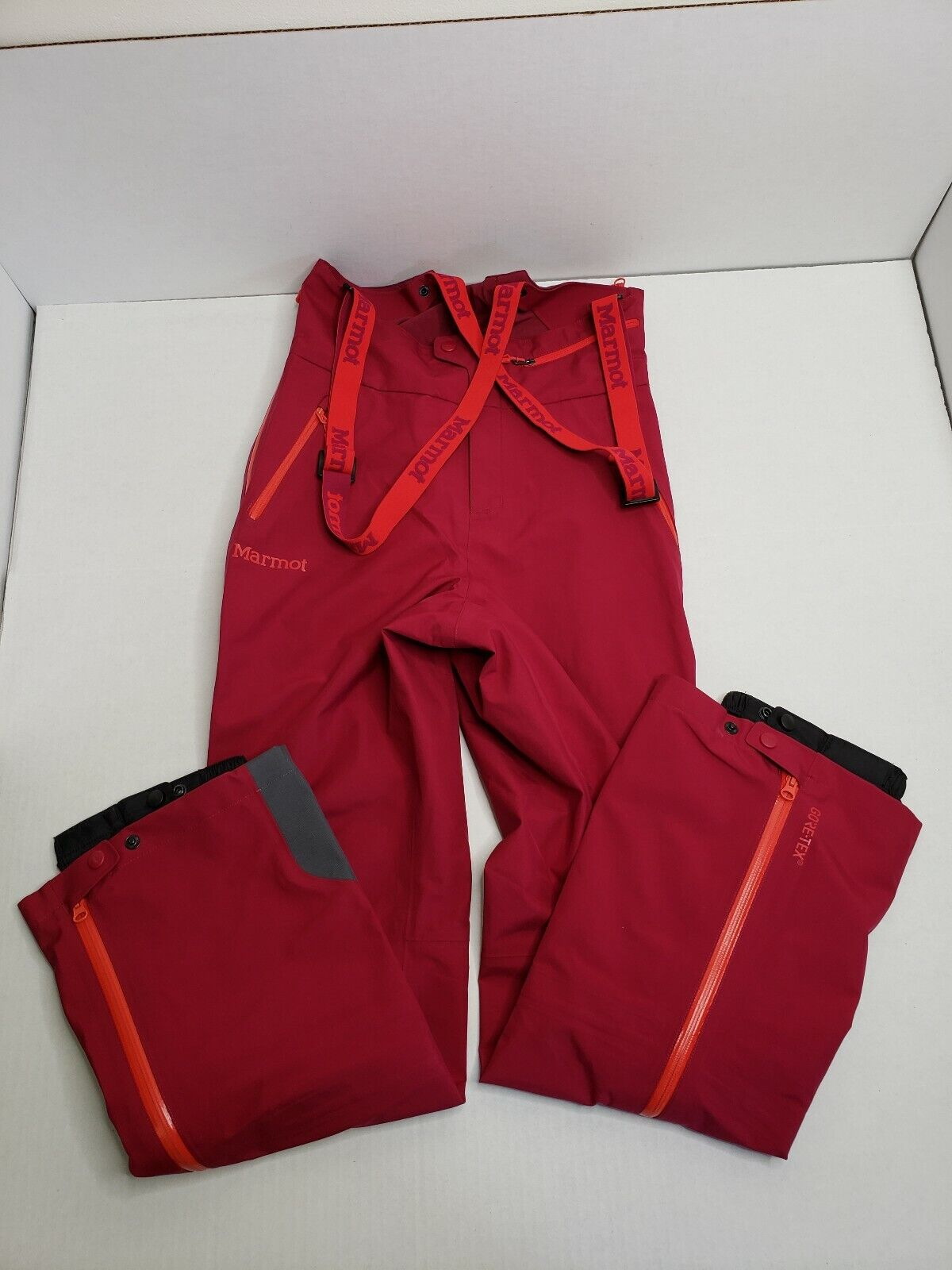 Marmot Women's Spire Bib Snow Pants 35070 Small Red Dahlia NWT