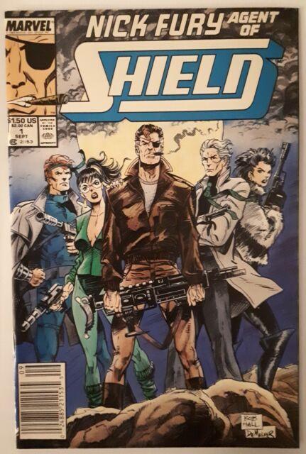 Nick Fury Agent of SHIELD (1989 3rd Series) #1 VERY NICE!!!