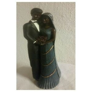 African American Home Decor Couple Figurine African American Tabletop Home Decor Collectible