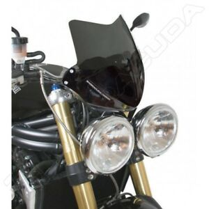 BARRACUDA-CUPOLINO-AEROSPORT-FUME-SCURO-TRIUMPH-SPEED-TRIPLE-2005-2010