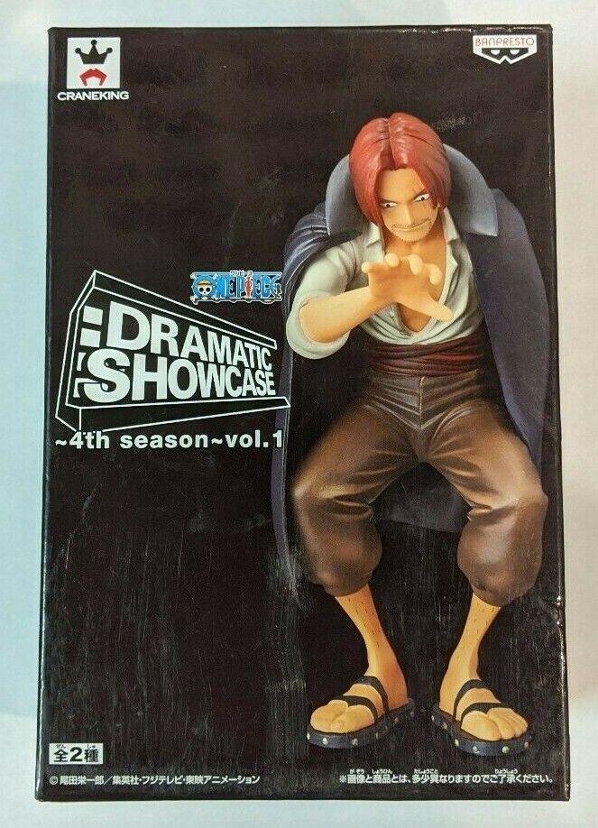 Banpresto One Piece Shanks Figure Dramatic Showcase 4th Season Volume 1