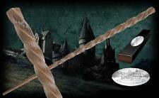 """Xenophilius Lovegood Wand 15"""" Replica NIB from Harry Potter Movie w/ Name Clip"""