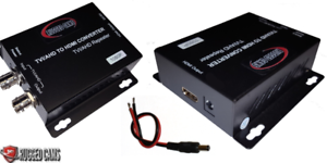 High Definition TVI /& AHD format Video to HDMI Converter for Security Cameras