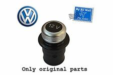 Genuine VW Volkswagen 12V Volt socket cigarette lighter dummy cover