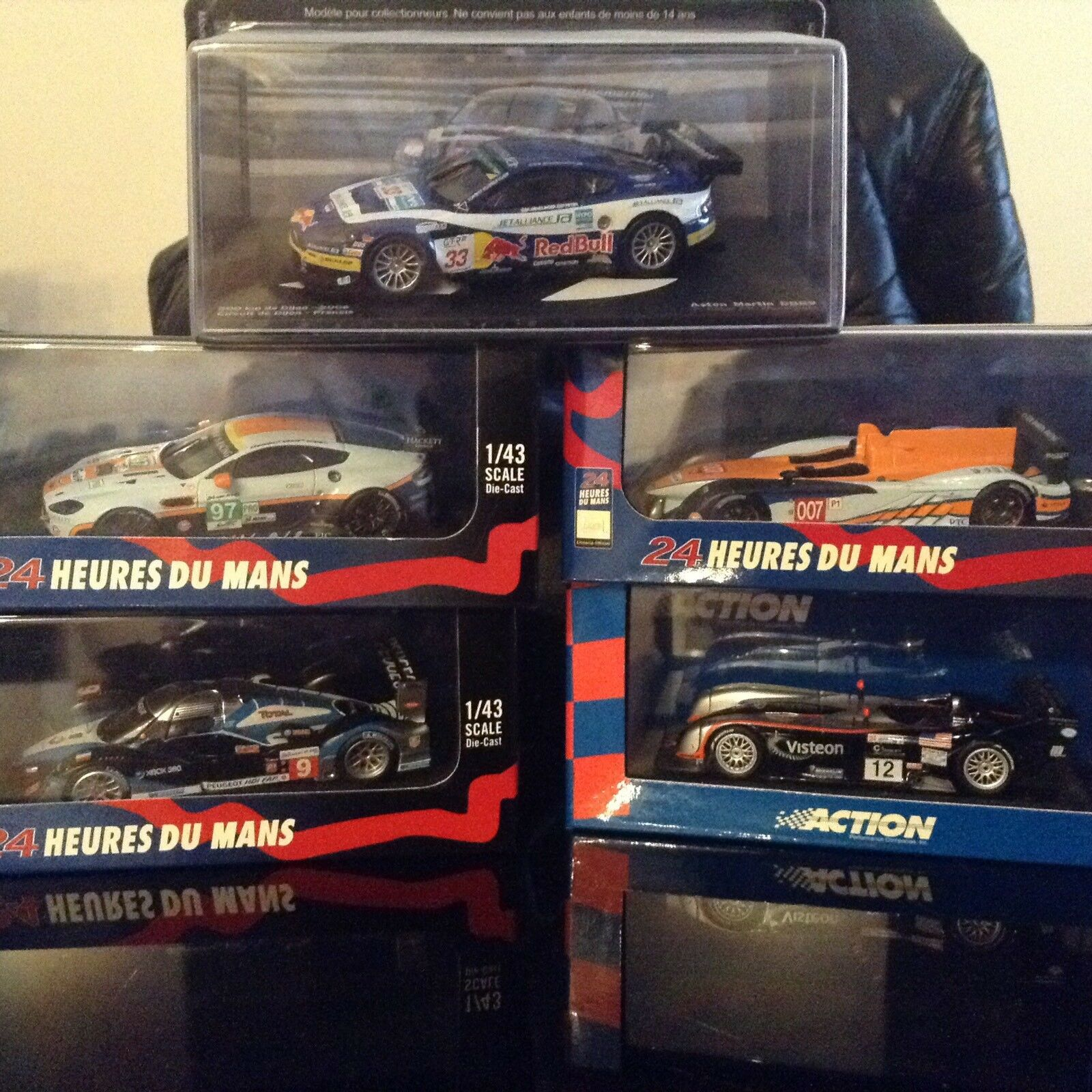 Set Fo 5 Metal Die Cast 1 43 Scale Le Mans Cars (Great, for this Christmas Time)