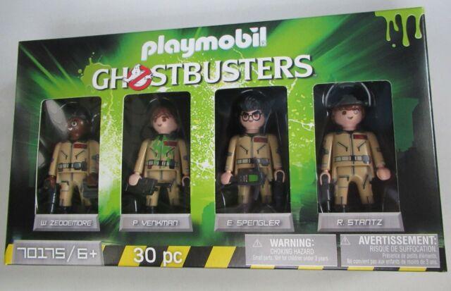 Playmobil Ghostbusters 4 Figure Pack 70175 30 pc Venkman Spengler Stantz NEW