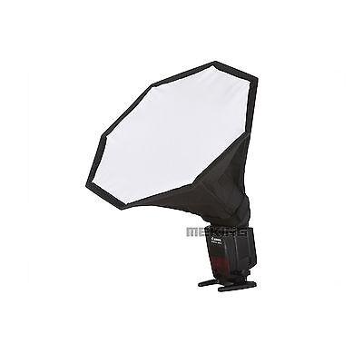 Selens Universal 28cm Mini Octagon Umbrella Softbox fr Lighting Speedlight Flash