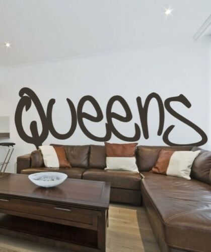 Vinyl Wall Art Decal Sticker Queens NYC NY Pride #T106