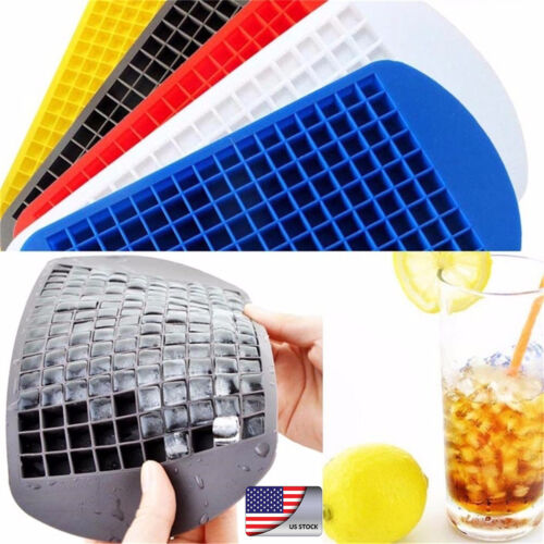 160 Grids Silicone Mini Small Tray Cubes Frozen Ice Cube Maker Mold DIY  Hot
