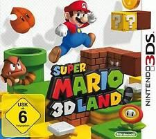 Nintendo 3ds Super Mario Land 3d * Deutsch * * como nuevo