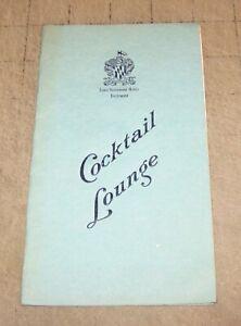Vintage-LORD-BALTIMORE-MD-HOTEL-COCKTAIL-LOUNGE-Drink-Menu-Most-Drinks-40c