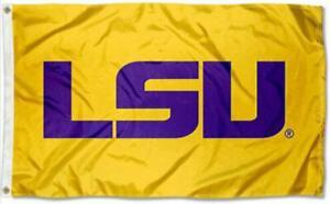 FLAG 3X5 LSU Tigers Football Louisiana State University 3 x 5 Banner Fast USA