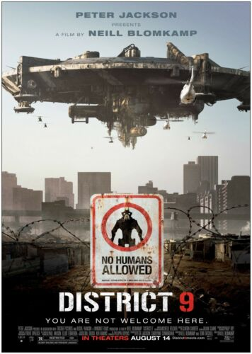 District 9 Classic Movie Poster Art Print A0 A1 A2 A3 A4 Maxi
