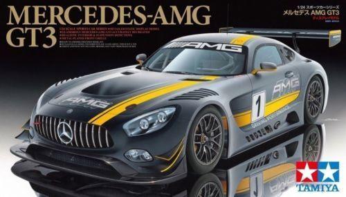 Mercedes AMG GT3 - 1 24 Car Model Kit - Tamiya 24345