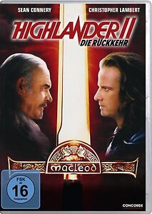 HIGHLANDER-2-II-DIE-RITORNO-Christopher-Lambert-SEAN-CONNERY-DVD-nuovo