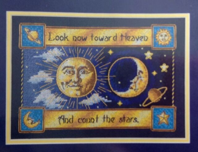 Dimensions Gold Collection Petite Sun Moon Kit Counted Cross Stitch