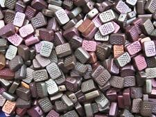 10 böhmischer Glasperlen hellgrün 12x9x4mm Beads 9648