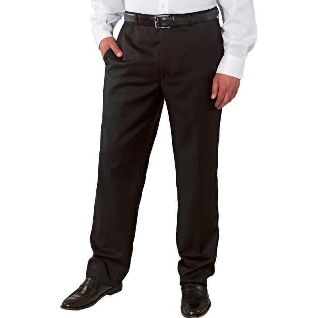 USED Men/'s Kirkland Signature Wool Blend Flat Front Dress Slacks Pants