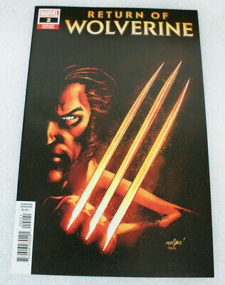 Marvel Comics 2018 NYCC Previews Return of Wolverine # 2 McNiven Variant