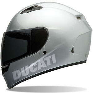DUCATI REFLECTIVE VINYL STICKER FOR HELMET DECAL EBay - Vinyl decals for motorcycle helmets