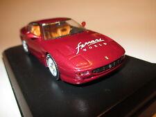 "Ferrari 456 GT rot red met special edition ""FERRARI WORLD"", Detail Cars in 1:43!"