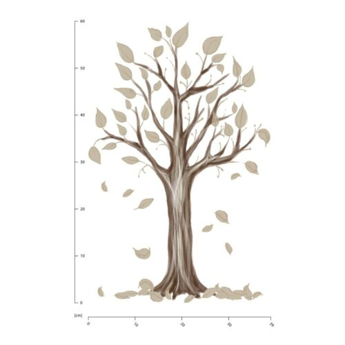 Autumn Tree Woodland Wall Sticker WS-51209