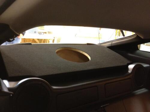 For a Nissan 350Z 32Hz Custom PORTED Sub Box Subwoofer Speaker Enclosure