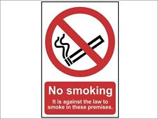 Law No Smoking Sign Against MISC9 Sticker Premises All Sizes /& Materials
