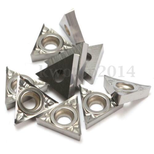 TCGT21.51-AK H01 CNC Carbide Inserts Used For Aluminum 10pcs TCGT110204-AK H01