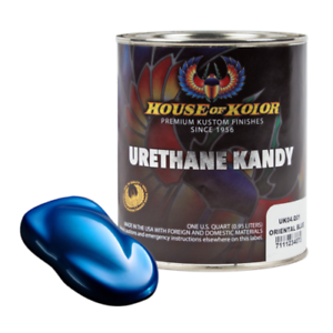 Details About House Of Kolor Uk04 Oriental Blue Kosmic Kolor Urethane Kandy Auto Paint 1 Quart