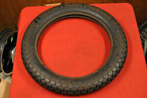 NOS Nitto Flat Track Racing Tire 4.00x19, Triumph BSA ...
