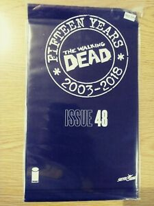 WALKING-DEAD-48-NM-15-YEAR-ANNIVERSARY-BLACK-POLYBAGG-SEALED-PA11-342