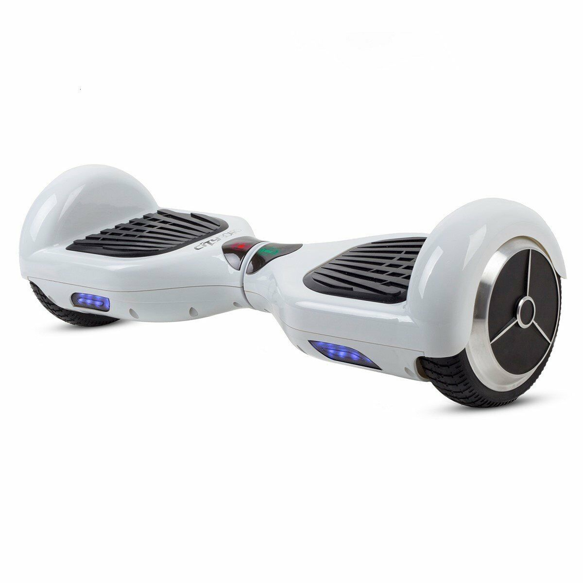 GoClever CityBoard S6 Hoverboard Smart Self Balance e-Board mini-Scooter Weiss